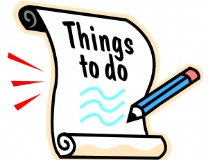 3-19-13 Things to do
