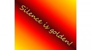 7-30-13 silence