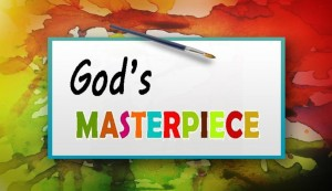 God's Masterpiece logo for blog