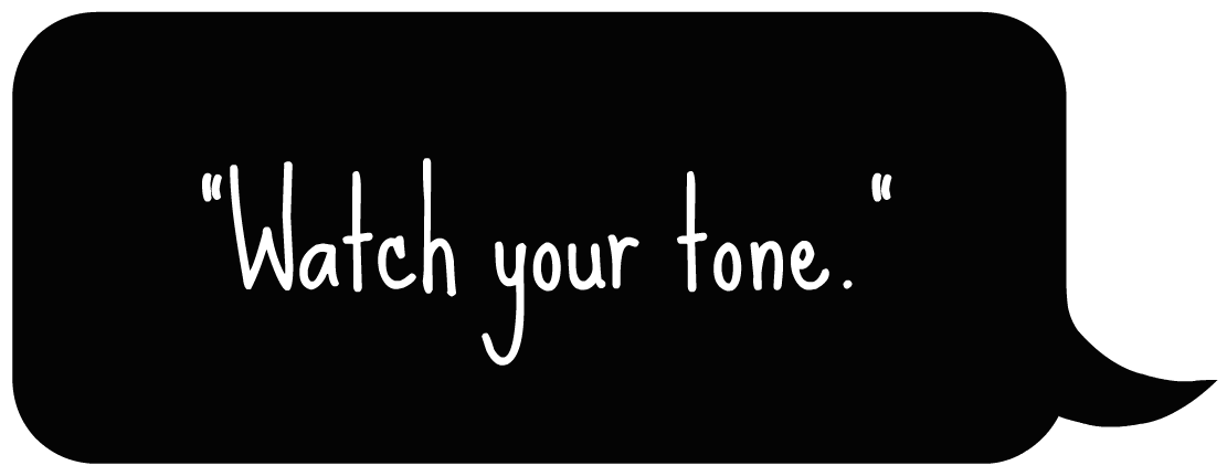 how to choose tone in writing