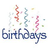 Birthday Confetti Email Salutation