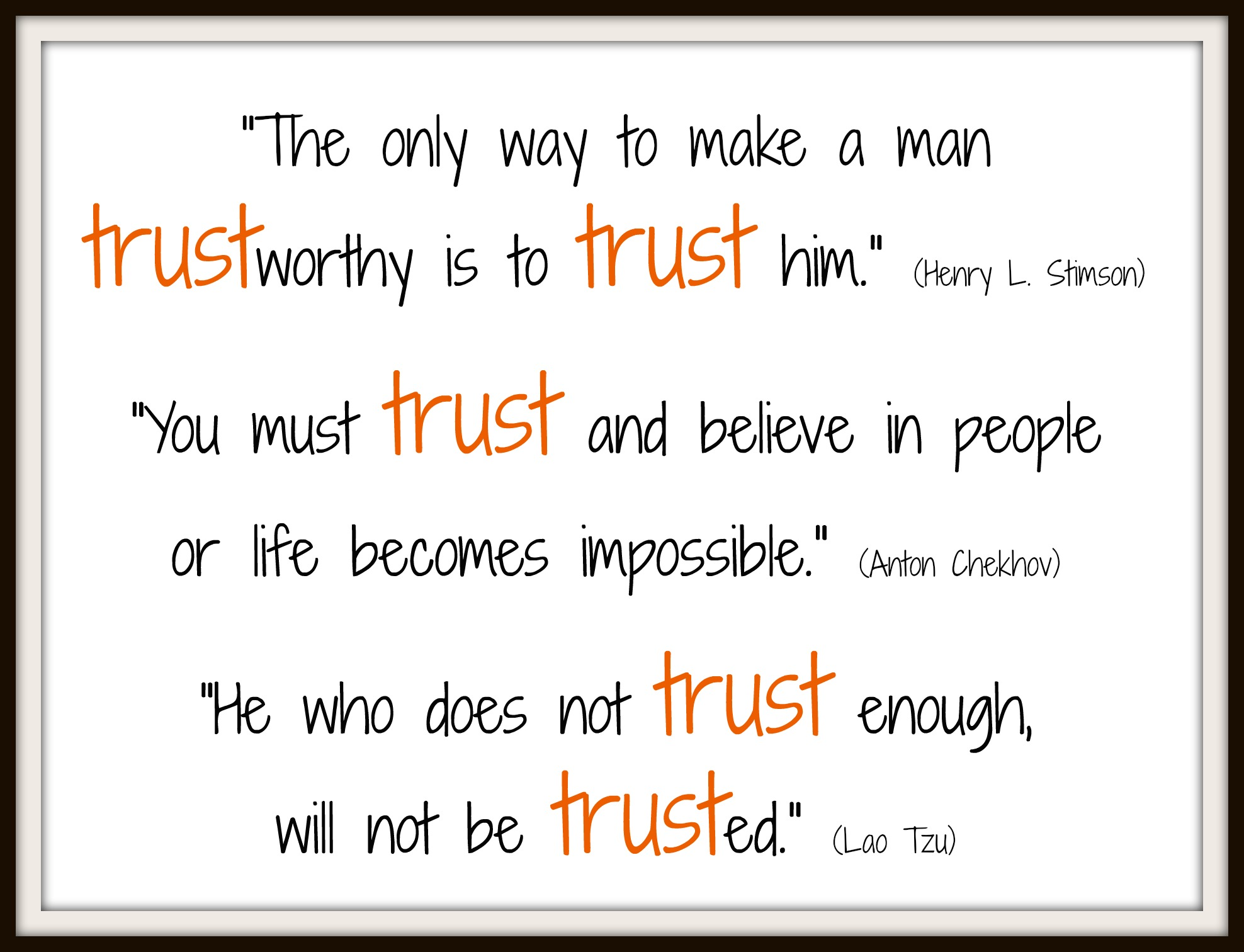 Trust Quotes Quotes Archives