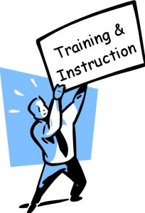 training & instruction