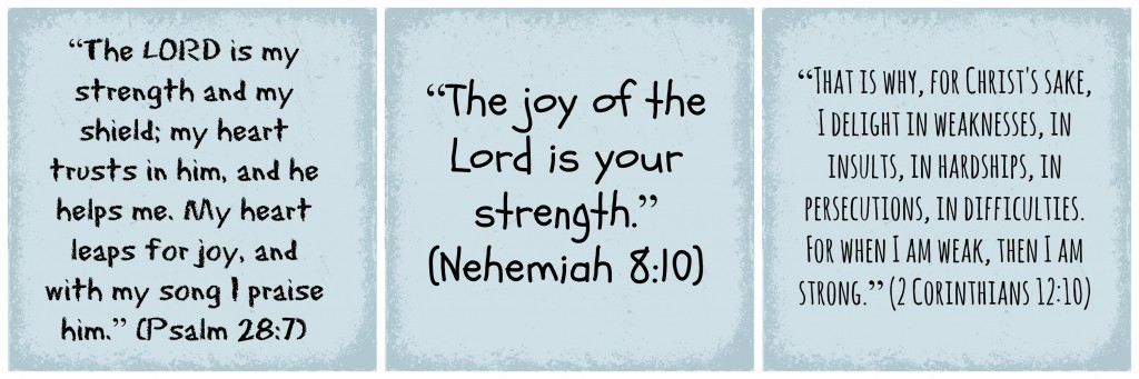 strength scripture